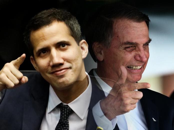Guaido e Bolsonaro